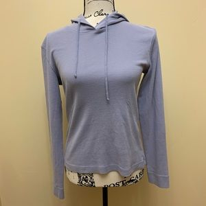 J Crew Pullover Sweater With Hoodie